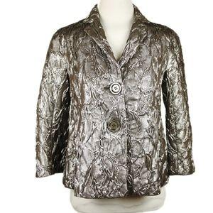 Michael Kors Metallic Jacket- Made in Italy